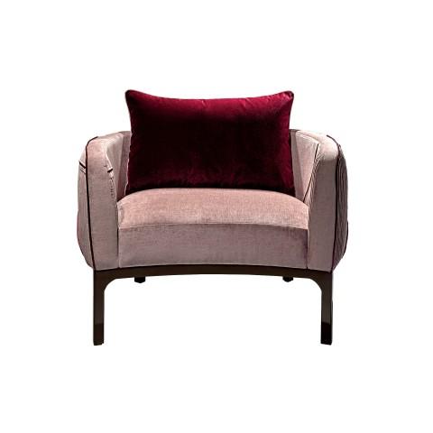 Romantic Velvet Armchair