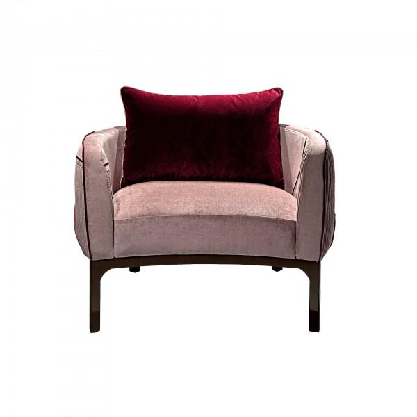 Poltrona Romantic Velvet [rosa]