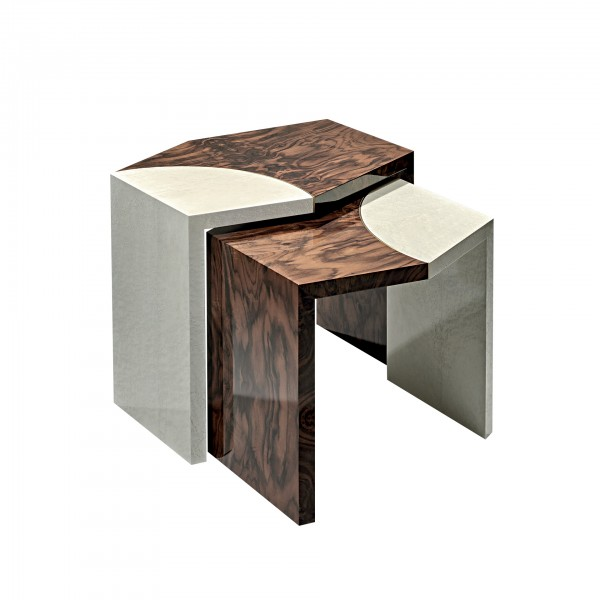 Set of two tables Fragments
