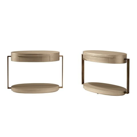 Square Oval Support Table
