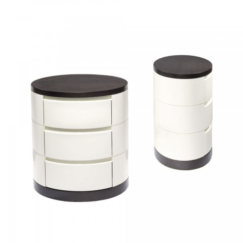 Natuzzy Bedside Table with...