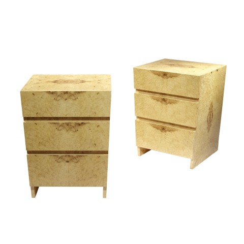 I Bedside Table with 3 drawers