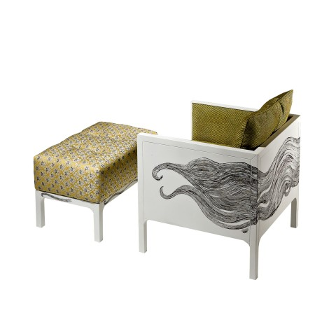 Risco Armchair with...