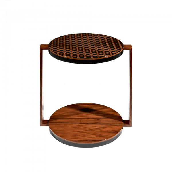 Tea Table Sol with artistic intervention by Júlio César
